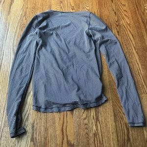 lululemon athletica Tops - Lululemon Striped Sunset Salutation Long Sleeve